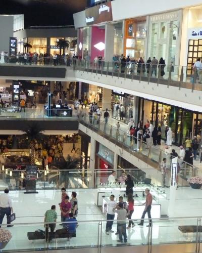 Limpieza de centros comerciales